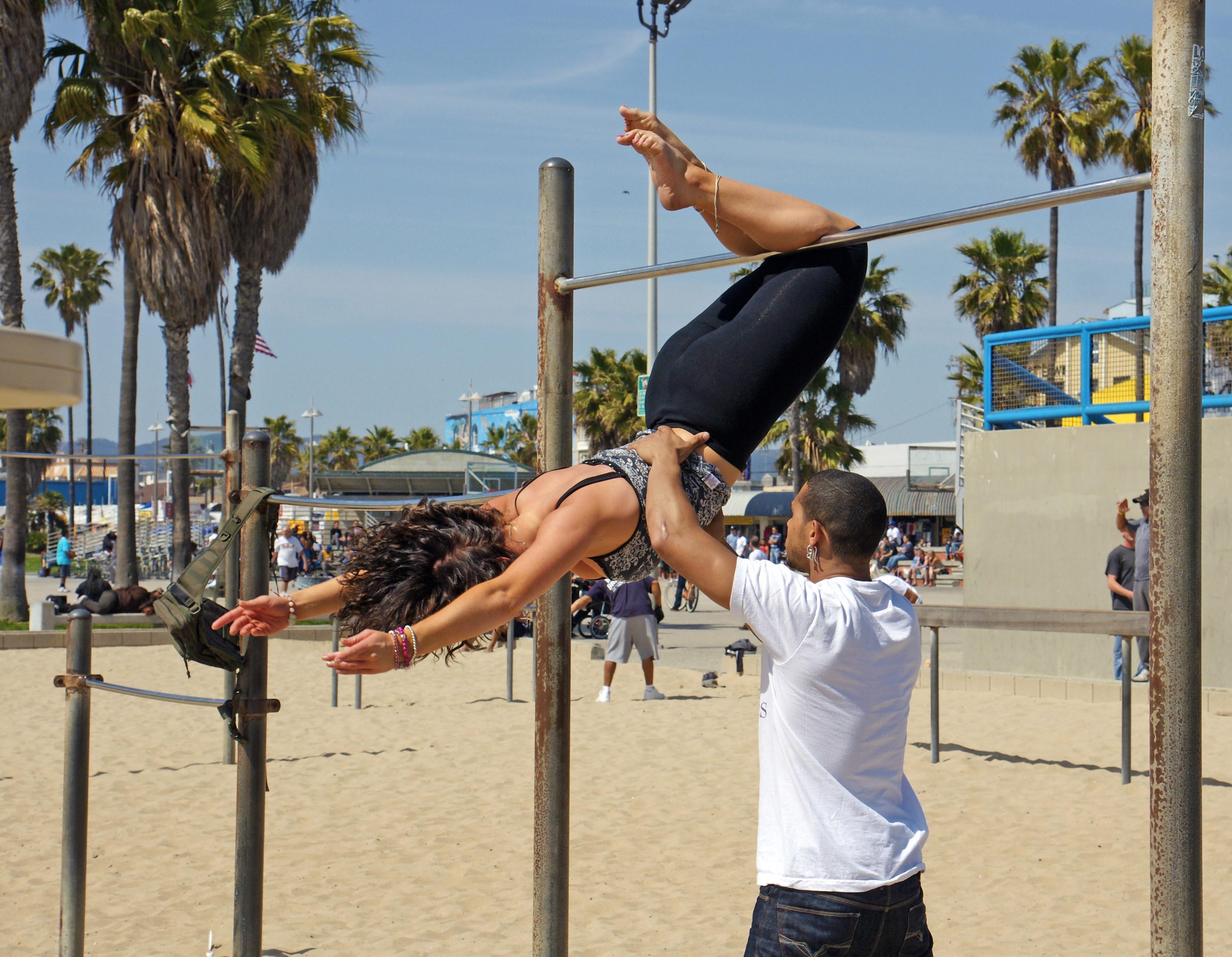 Venice Beach Bar Girl