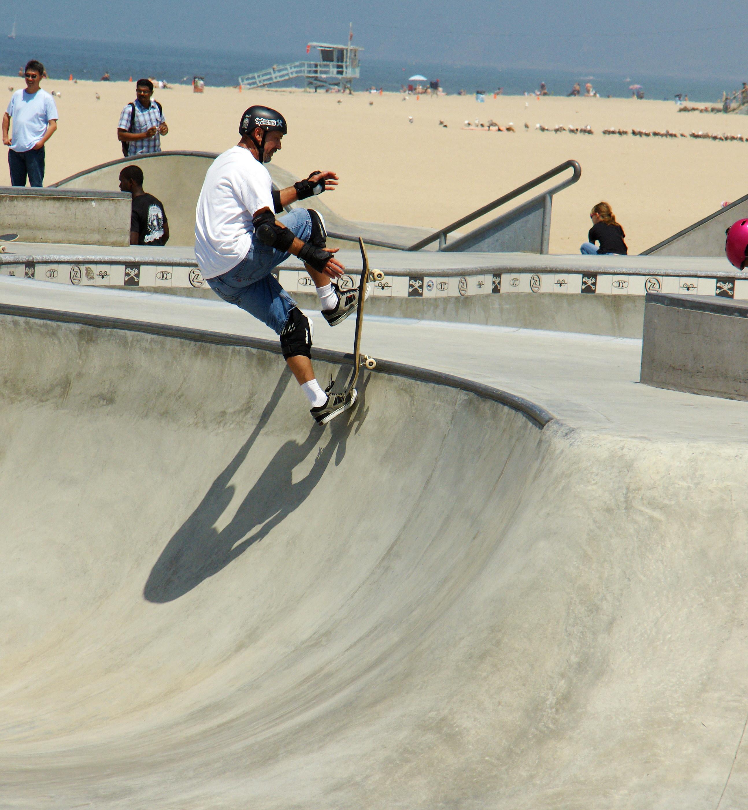 Venice Beach Skateboarder