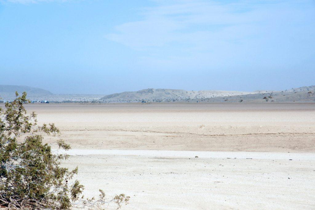 California Dunes near Arizona.