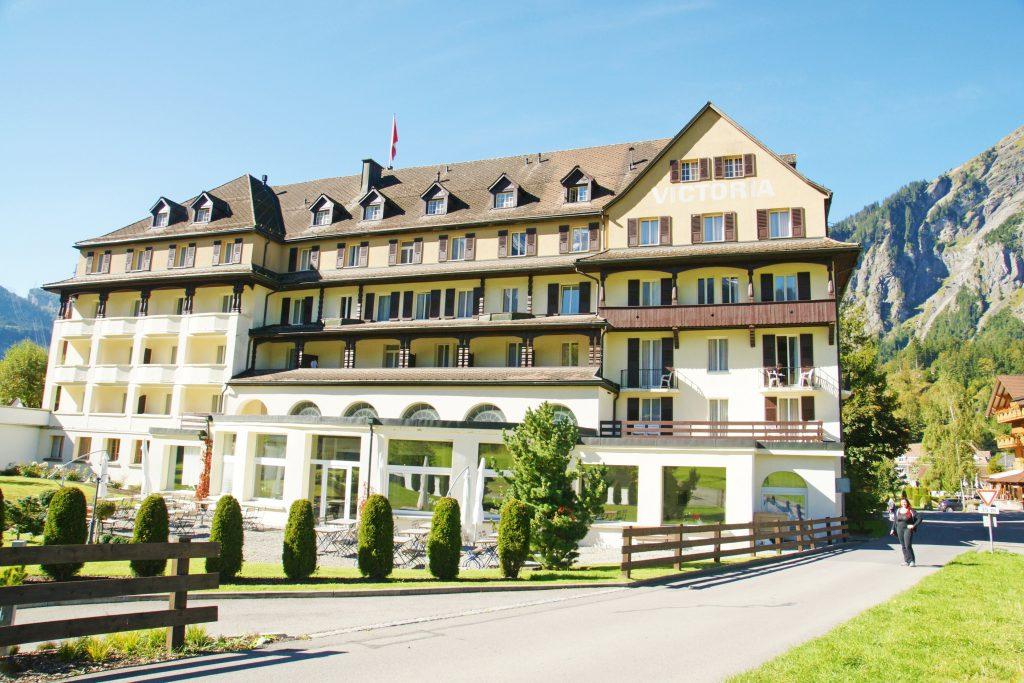 The classic Hotel Victoria.