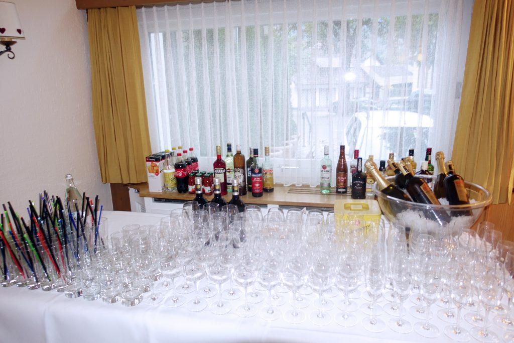 Open bar, Kandersteg style!