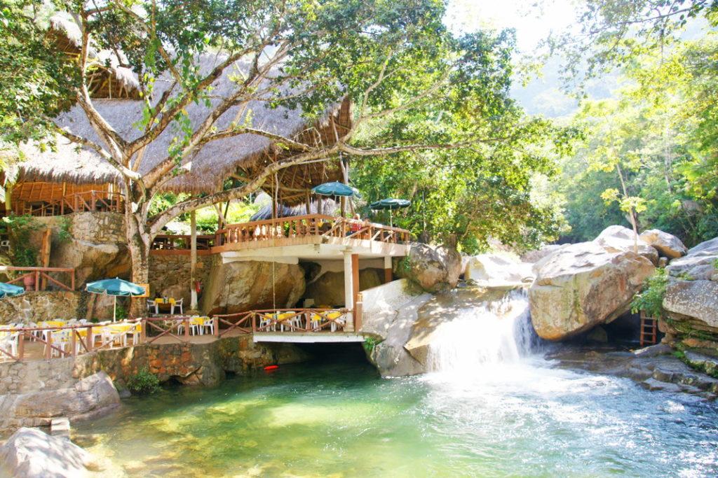 El Edén de Vallarta Restaurant and Waterfall.