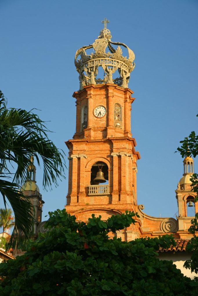 Nuestra Señora de Guadalupe, one of Puerto Vallarta's icons.