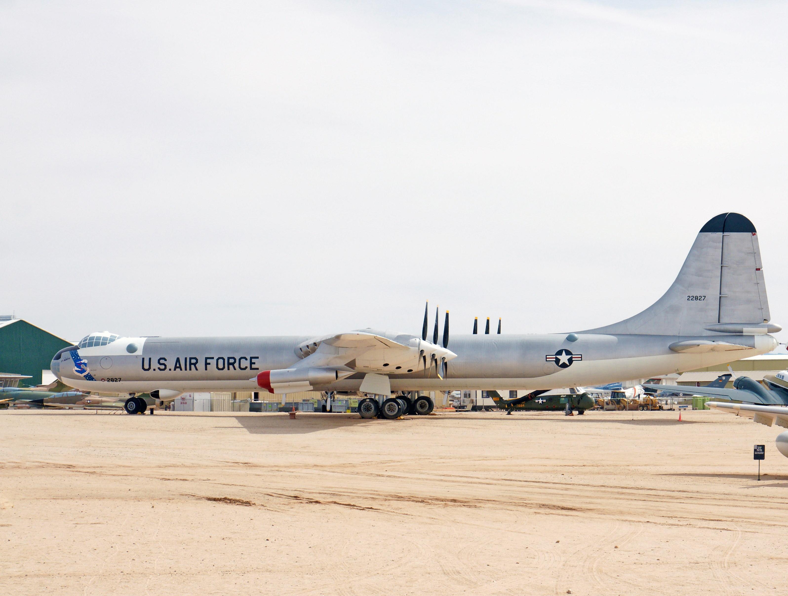 Convair B-36J Peacemaker side view