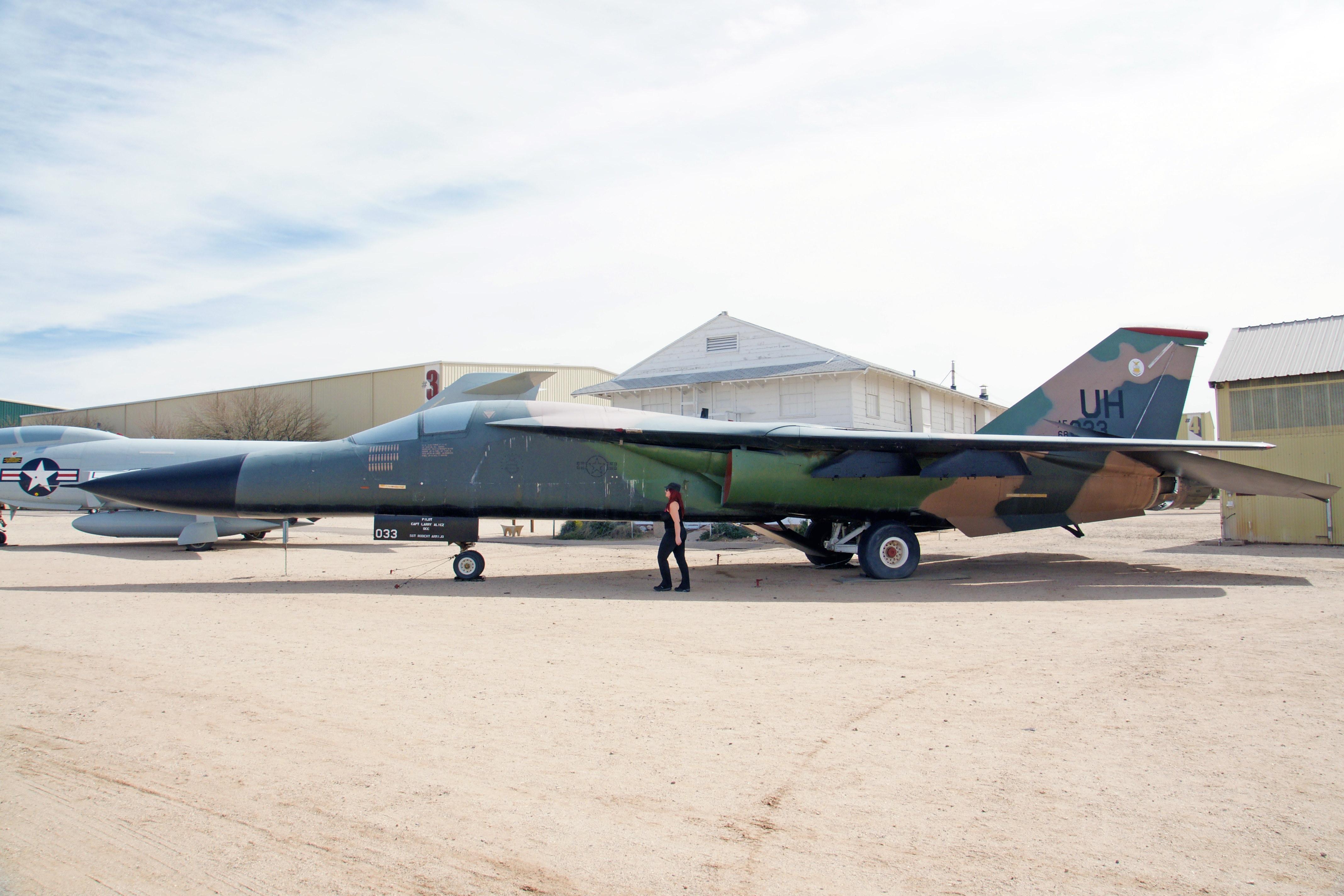 General Dynamics F-111E Aardvark