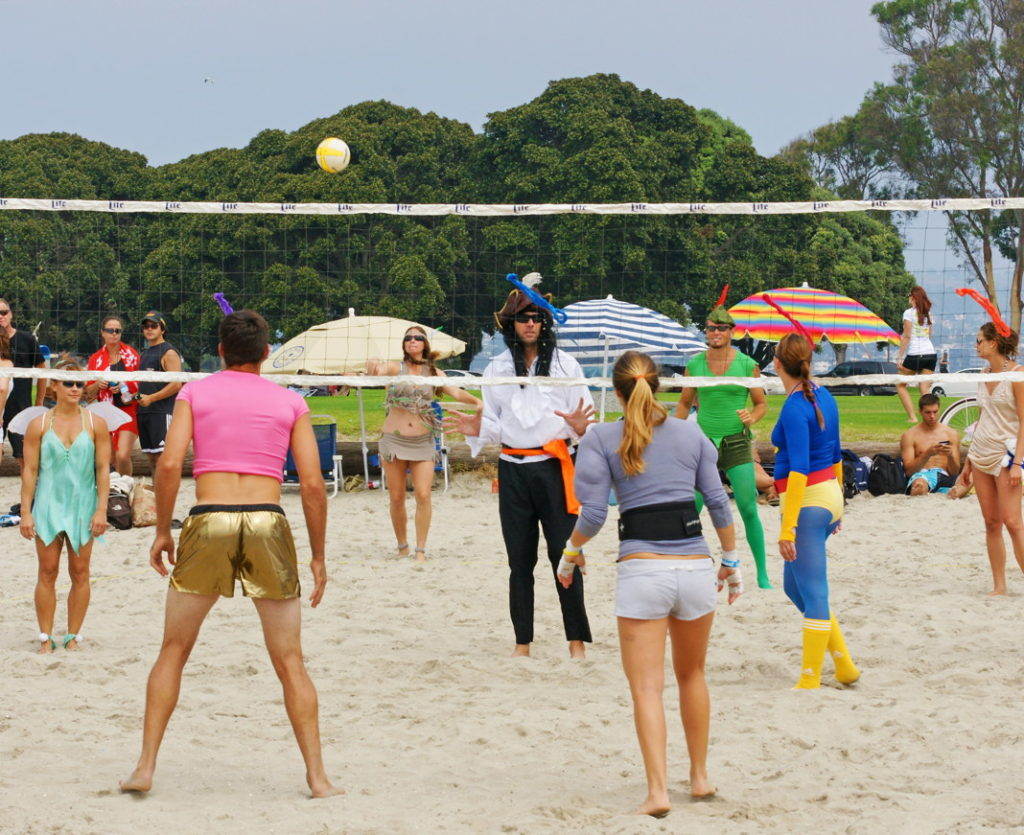 The way beach volleyball should be played!
