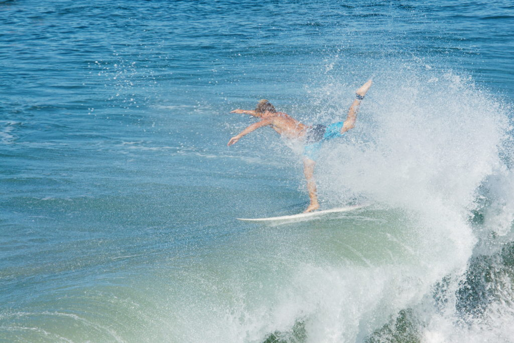 Surfing and free-style dancing is a thing, I guess...