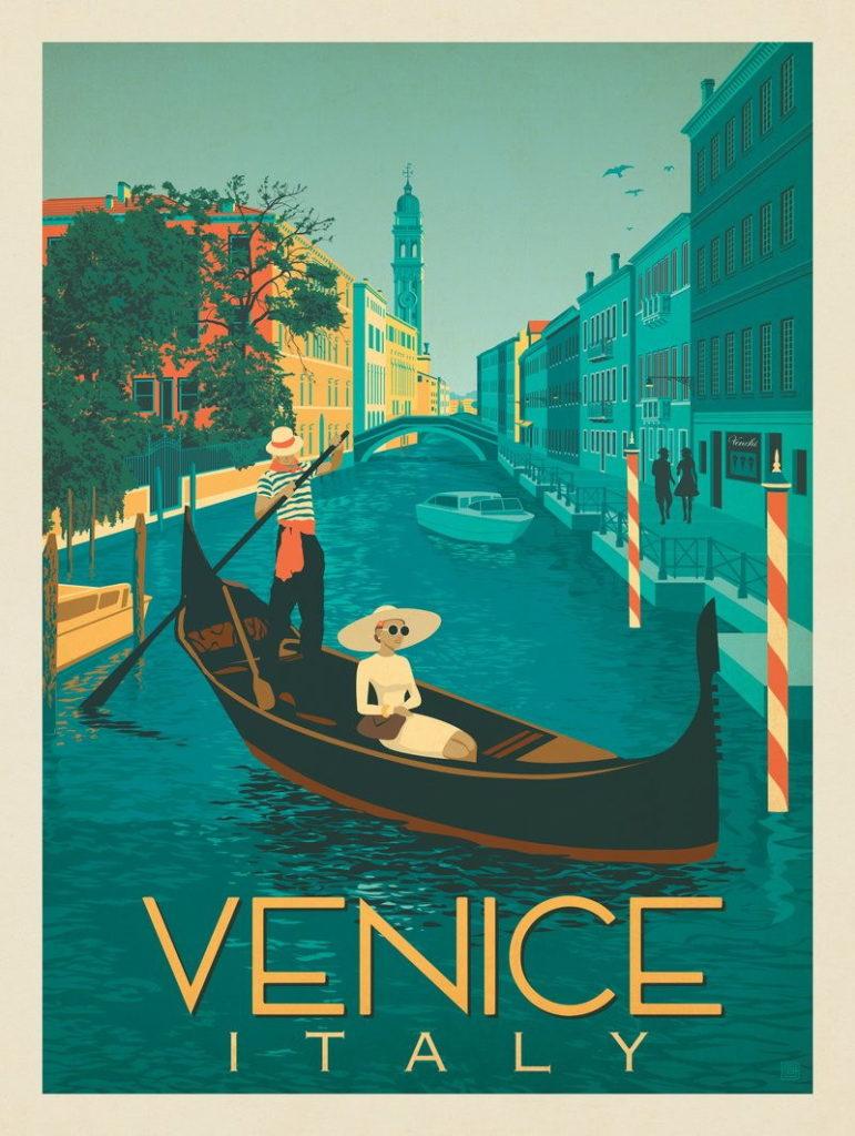 Vintage gondola travel. (Disclaimer: I did not take this photograph.)
