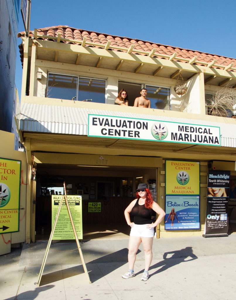 A Medical Marijuana Dispensary in Venice Beach.