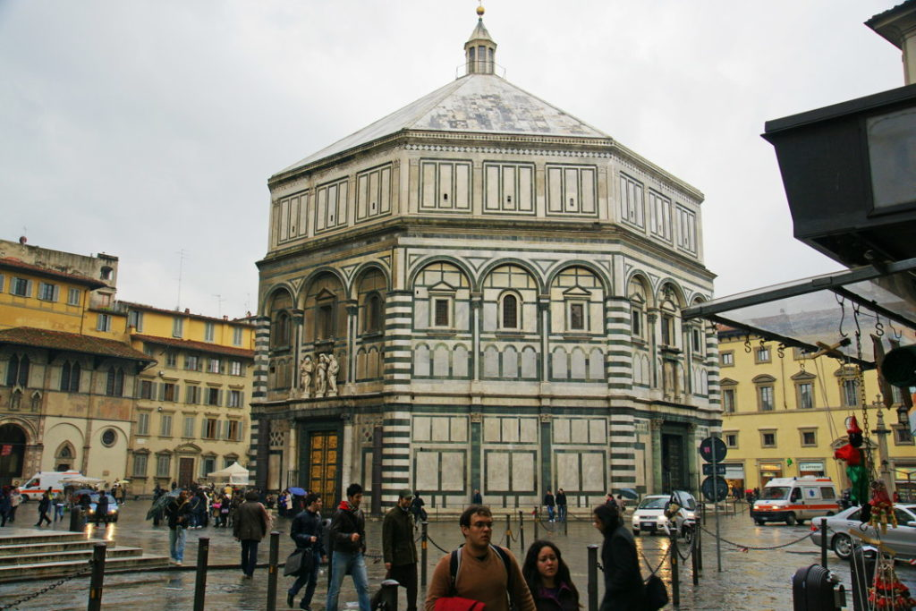 The Battistero di San Giovanni is one of the oldest buildings in Florence.