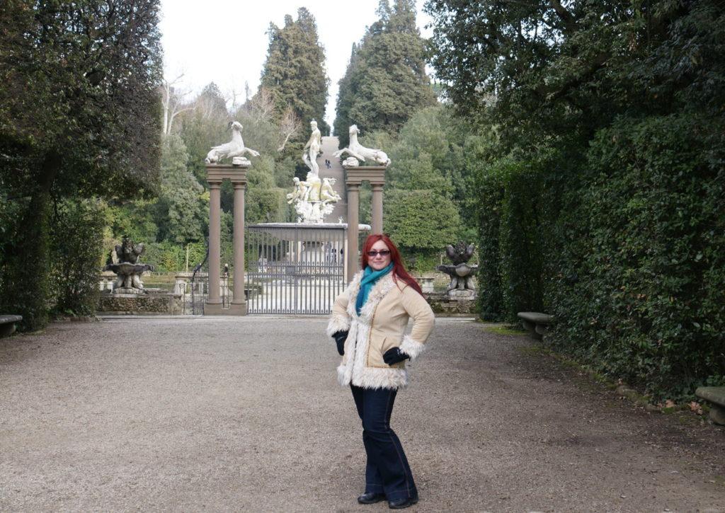 Gateway to Giardino di Boboli.