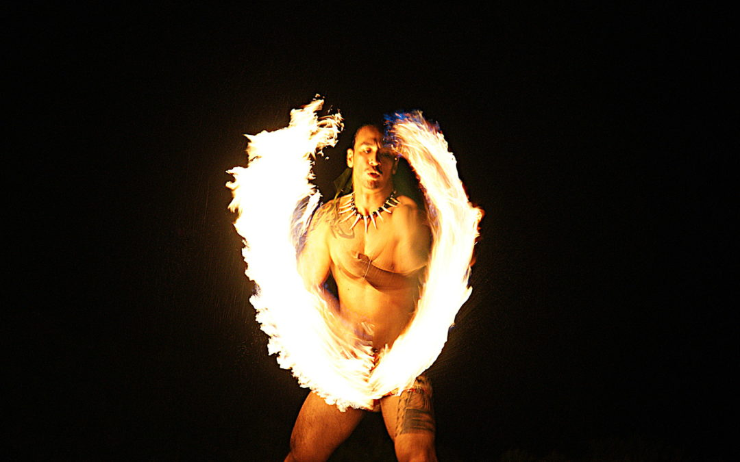 Married in Mau - Fire Dancer.