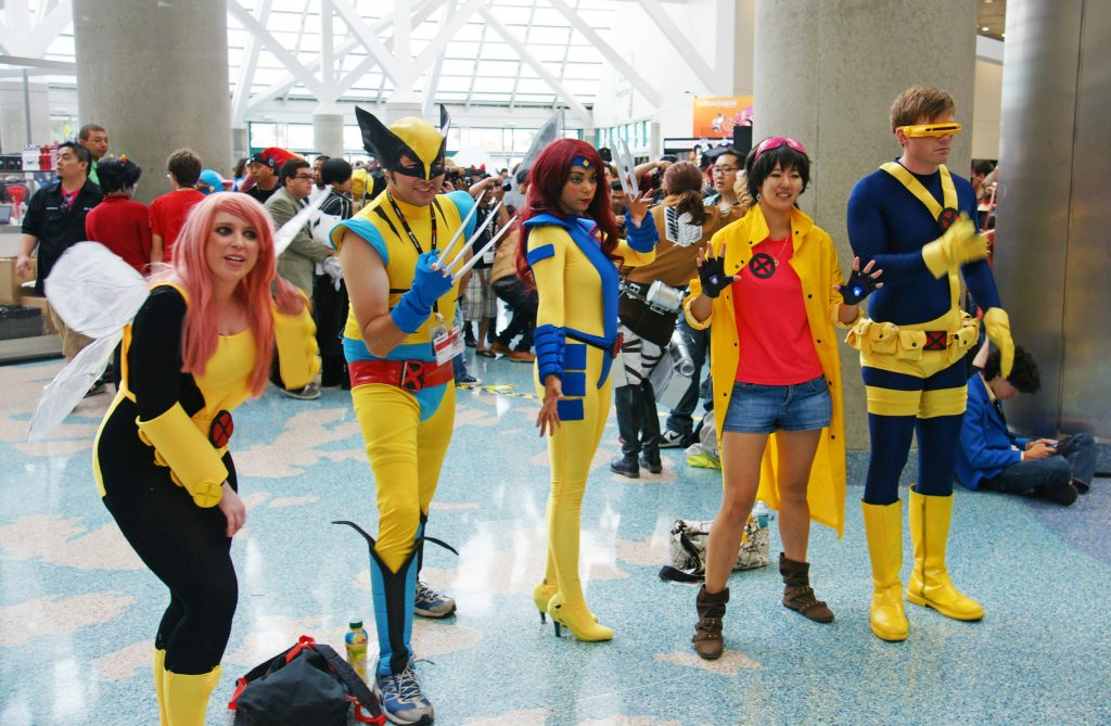 X-Men and X-Women to the rescue!
