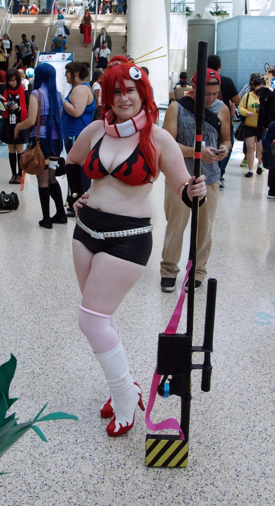 Yoko Littner is here, too, again!