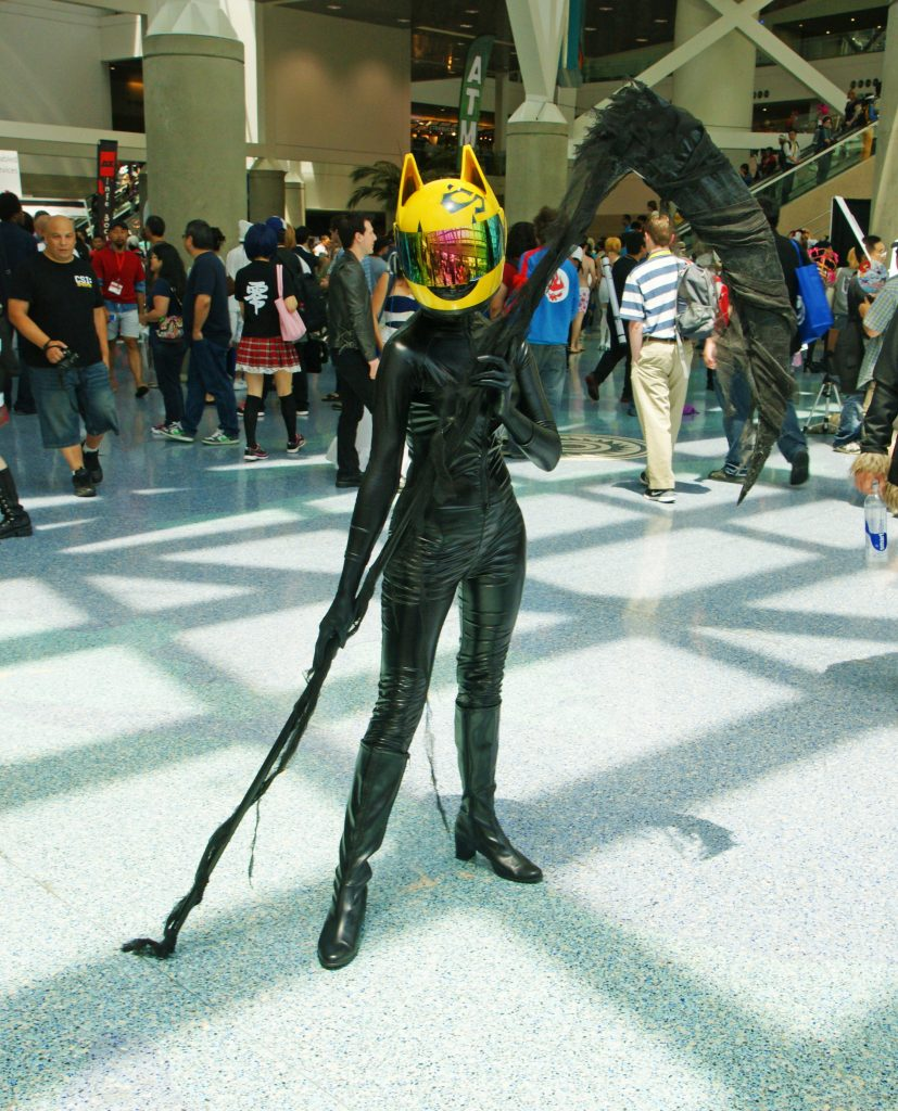 Celty, looking a bit more catwomany.
