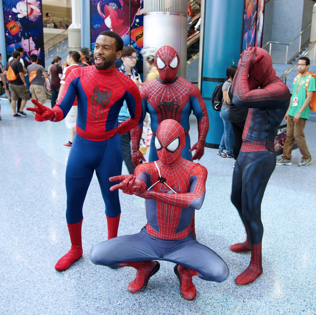Spidermen, Spidermen, doing whatever spiders ken.