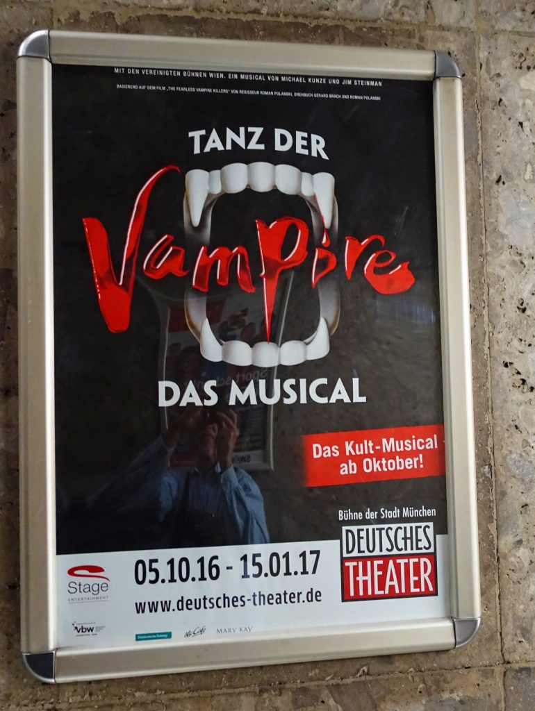 I did not know that Vampires could sing.