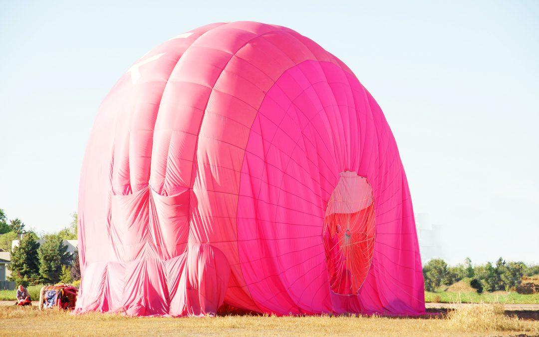 Albuquerque International Balloon Fiesta Balloon Descent