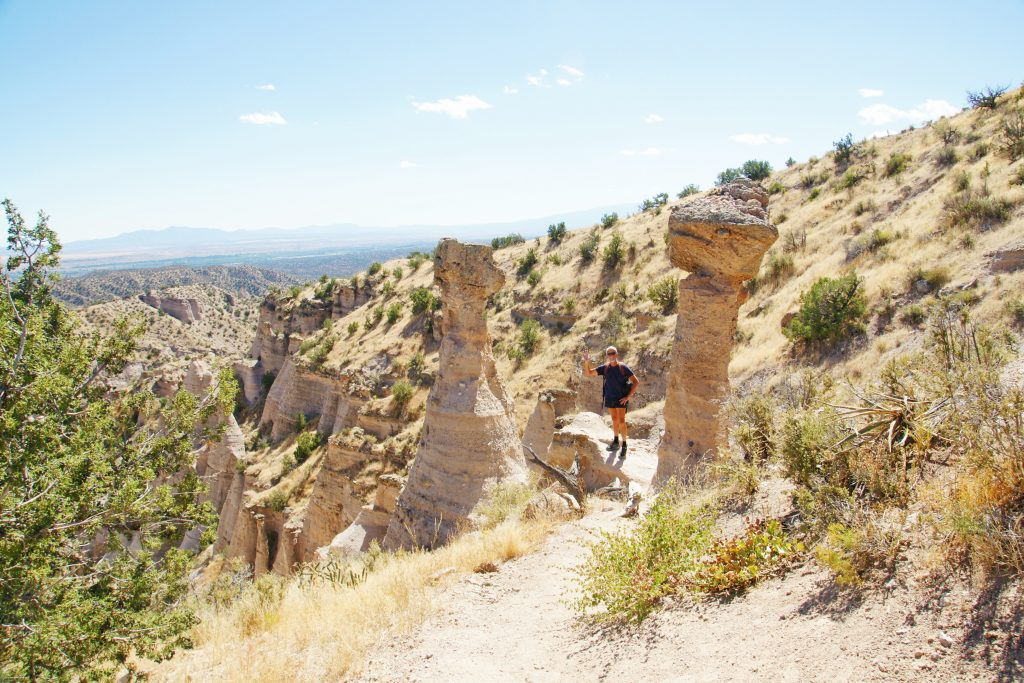 "Tent rocks are also called hoodoos. I like the name ""hoodoo"" better…."