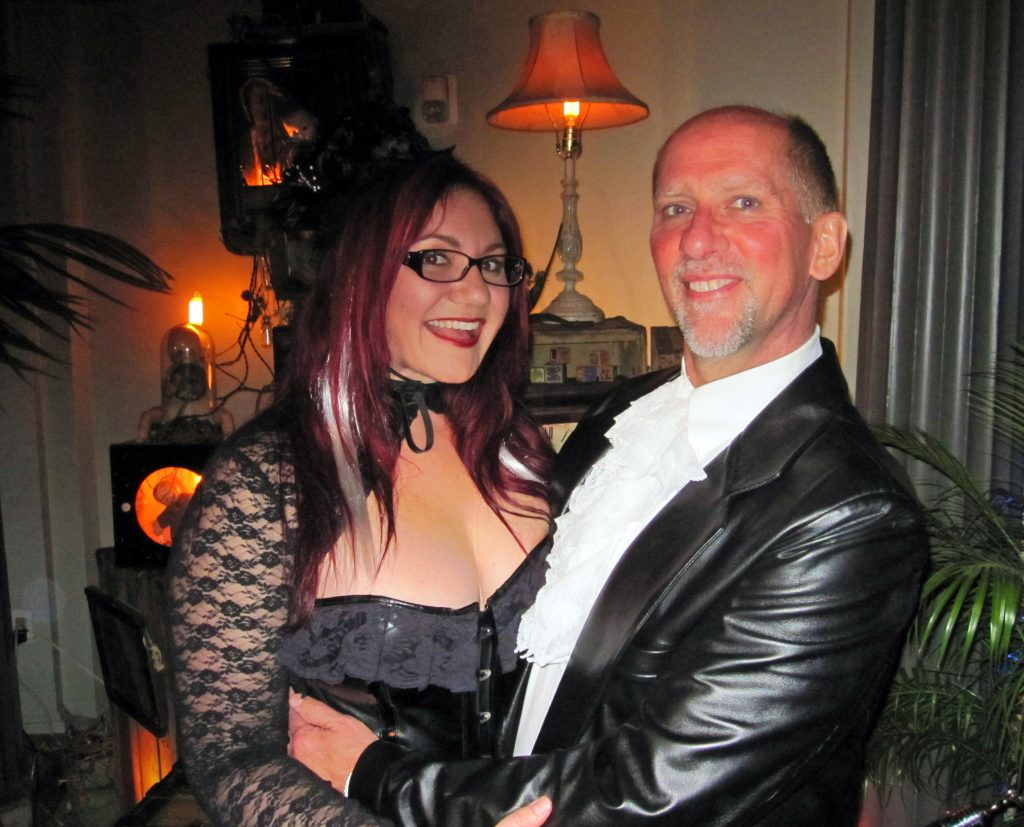 Having a ball at the Edwardian ball.