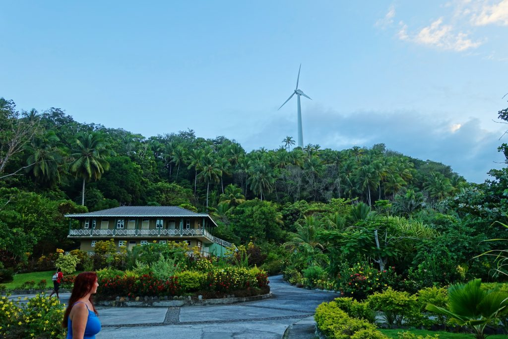 Dominica is an eco-powered island.