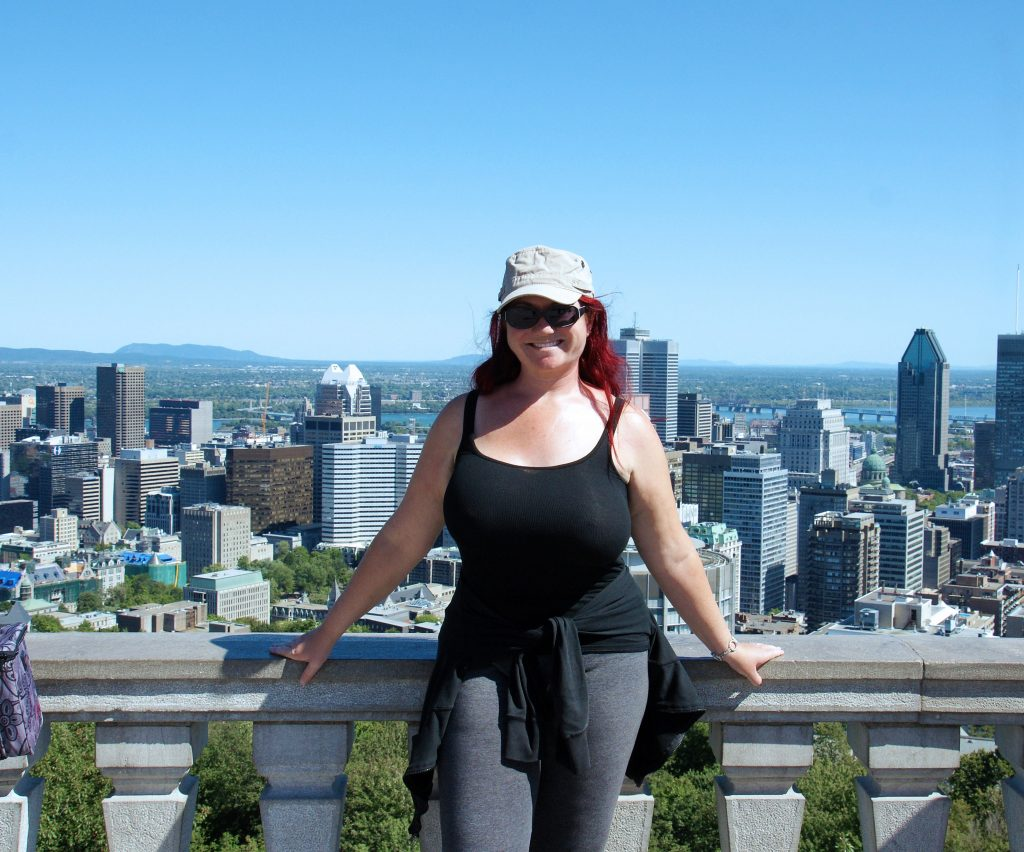 A view from Mount Royal.