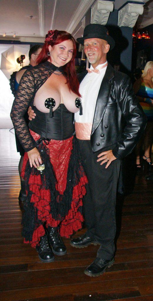 Dressed to impress at the Kabaret.