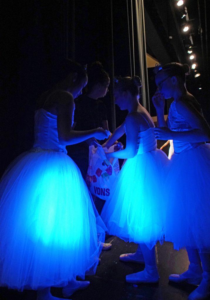 Dancers prepare for winter.
