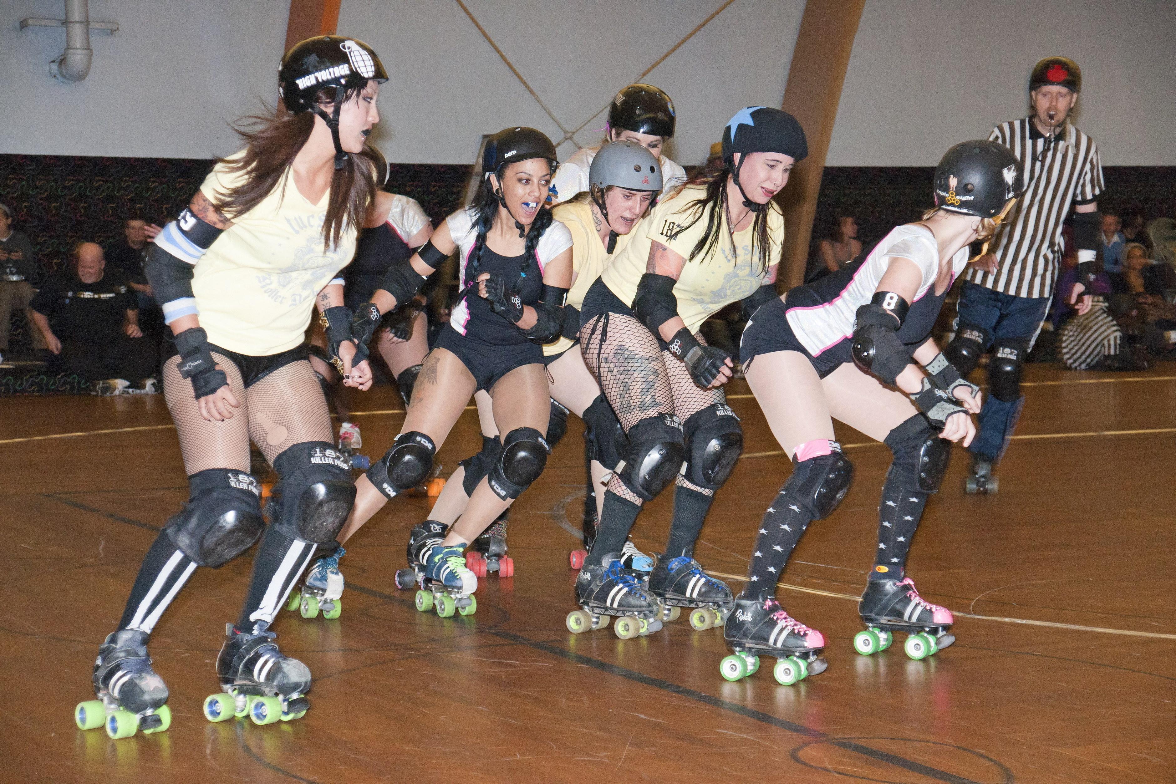 Roller Derby-SD Starlettes vs Tucson
