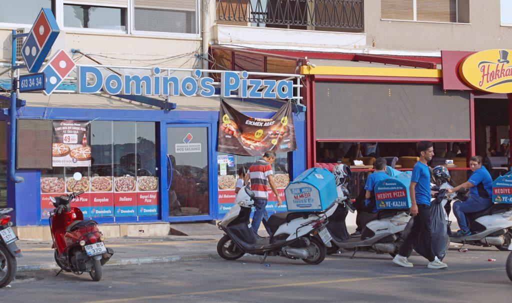 Domino's Pizza: International Cuisine.