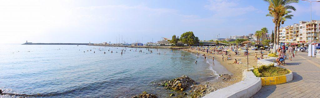 The principal swimmer's beach, Turkish-style.