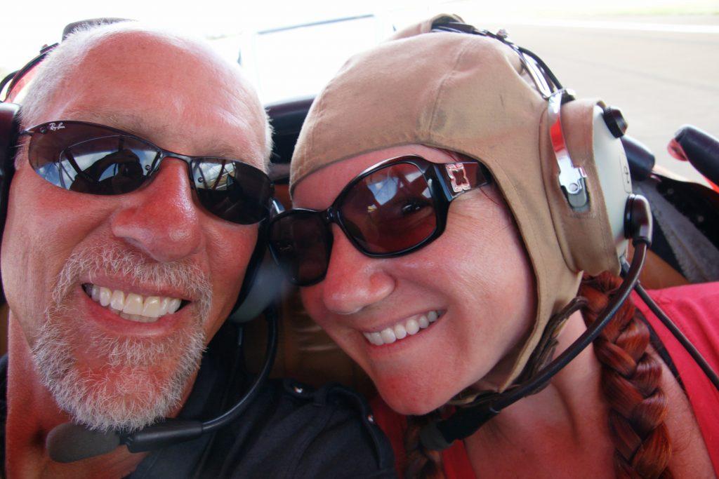 Biplane selfie time!