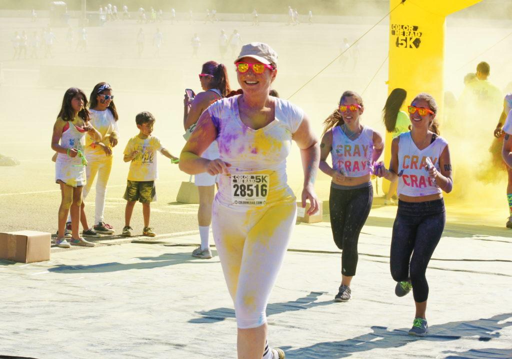 Hey!  Why aren't those girls yellow?