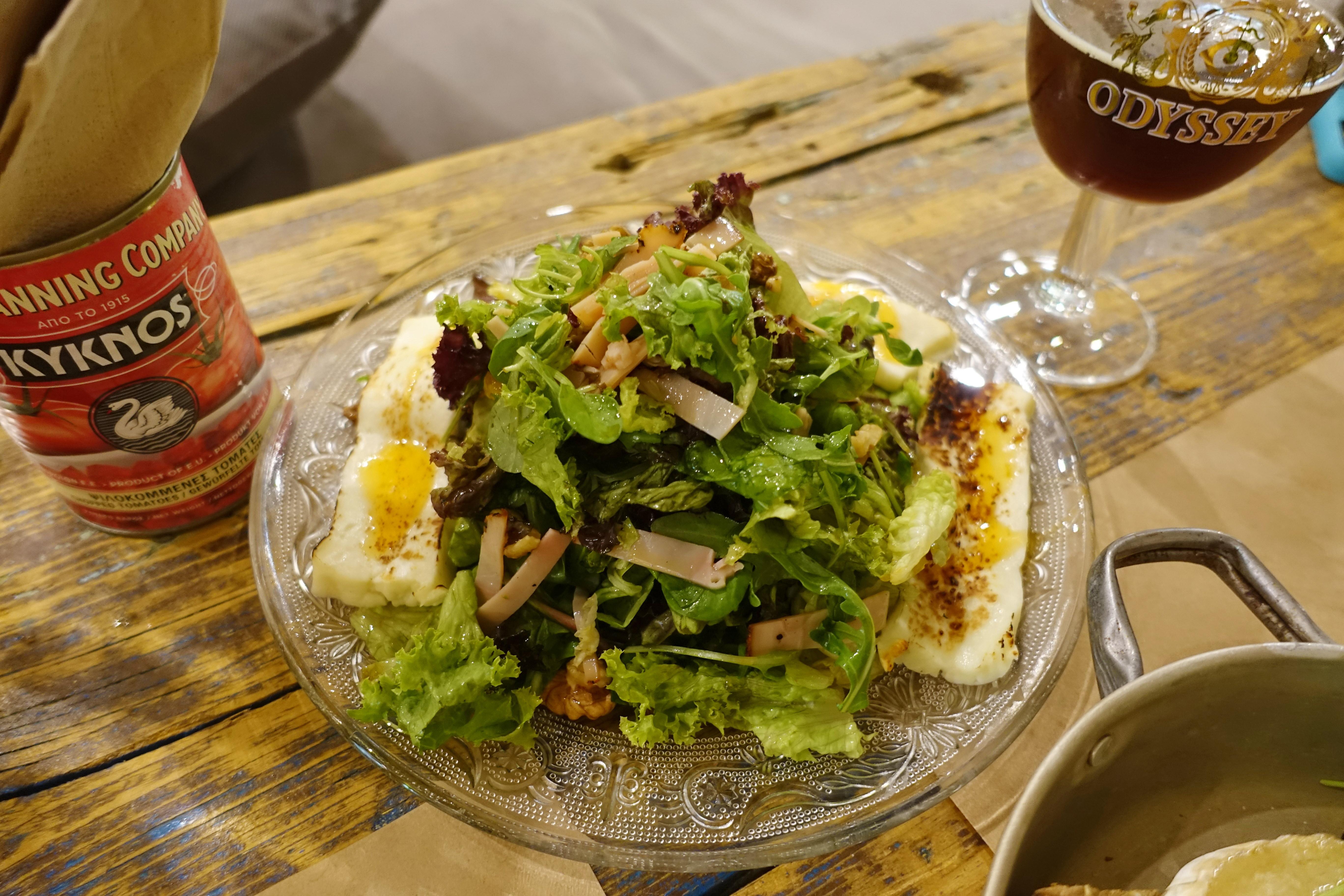 A real Greek salad.