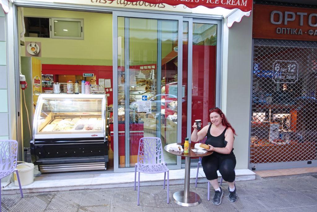 When in Greece, eat like the Greeks.