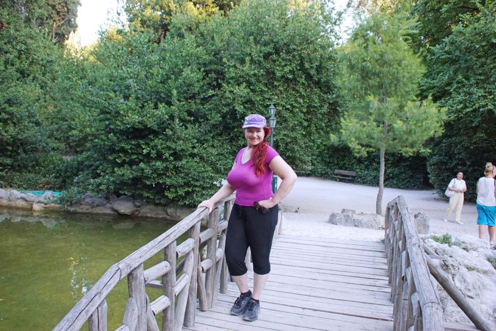 This is the posing bridge, I think.