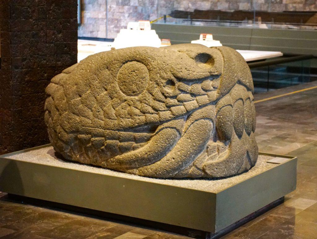 Look! Up in the sky!  It's a bird! It's a snake! No, it's Quetzalcoatl!