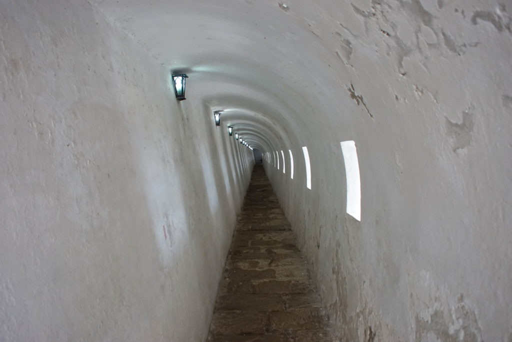 That's one long hallway.