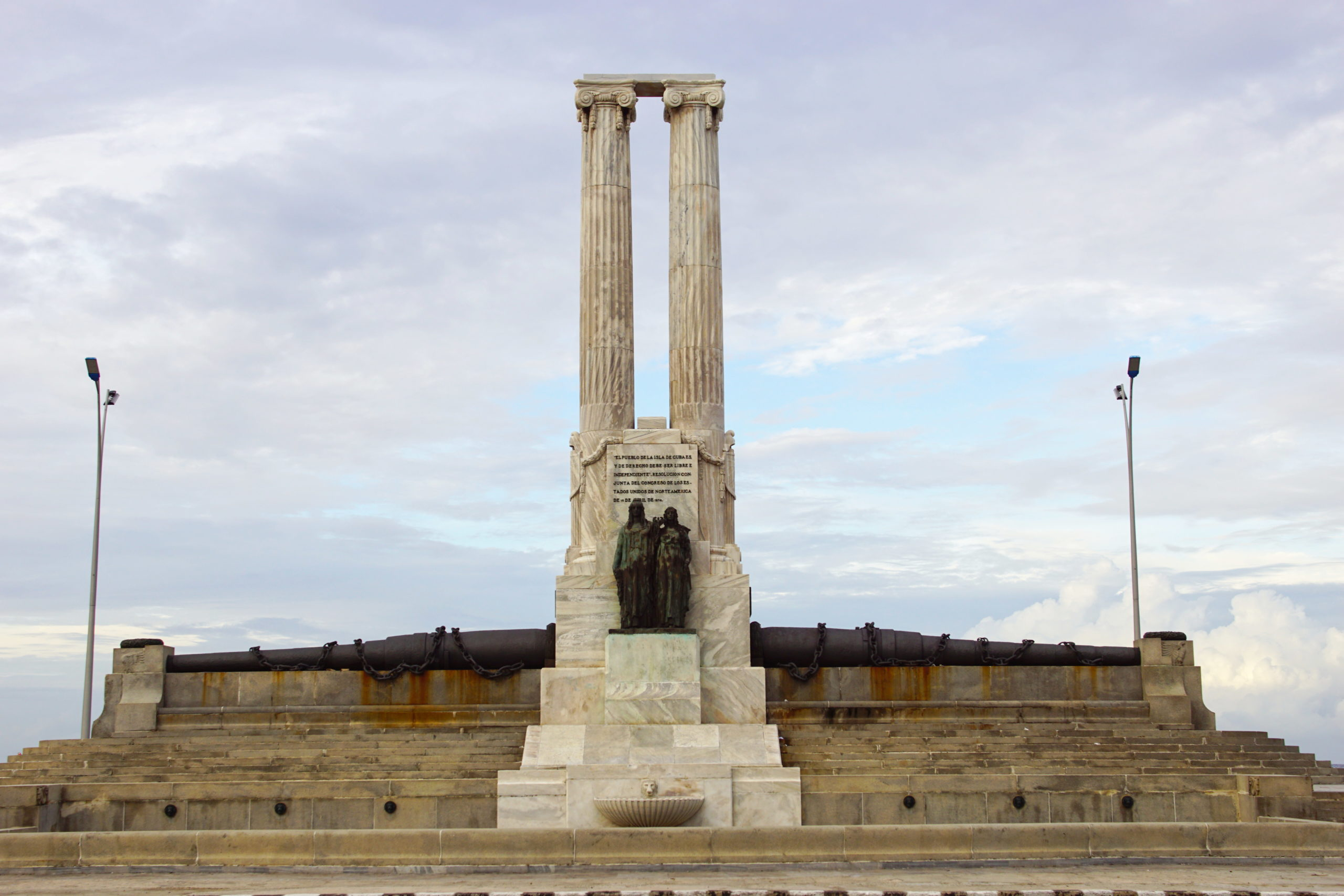 One of Cuba's stranger monuments.