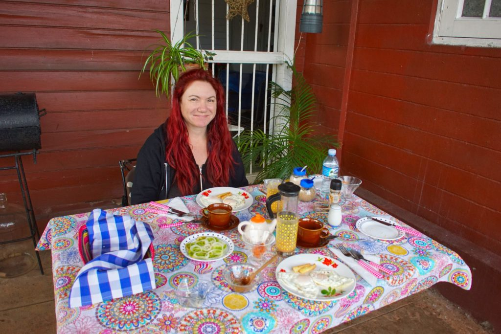 Breakfast in La Habana!