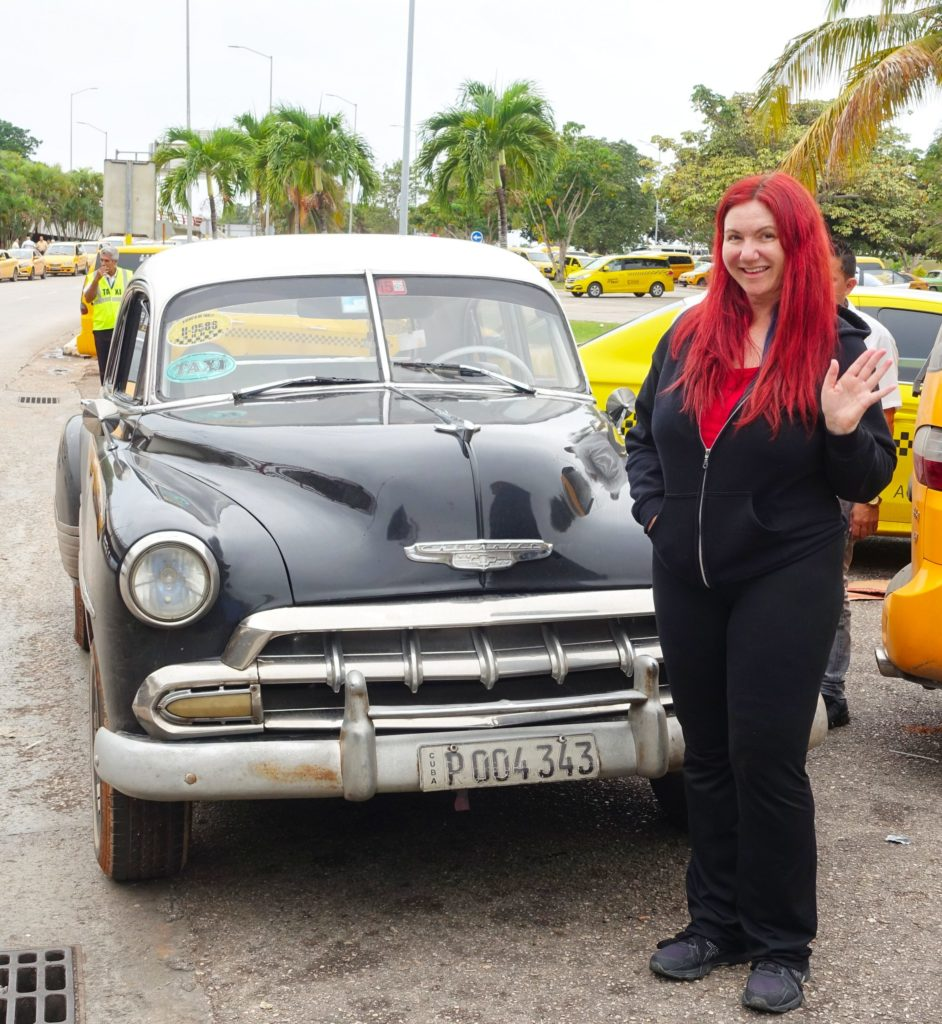 Just your typical Cuban taxi.