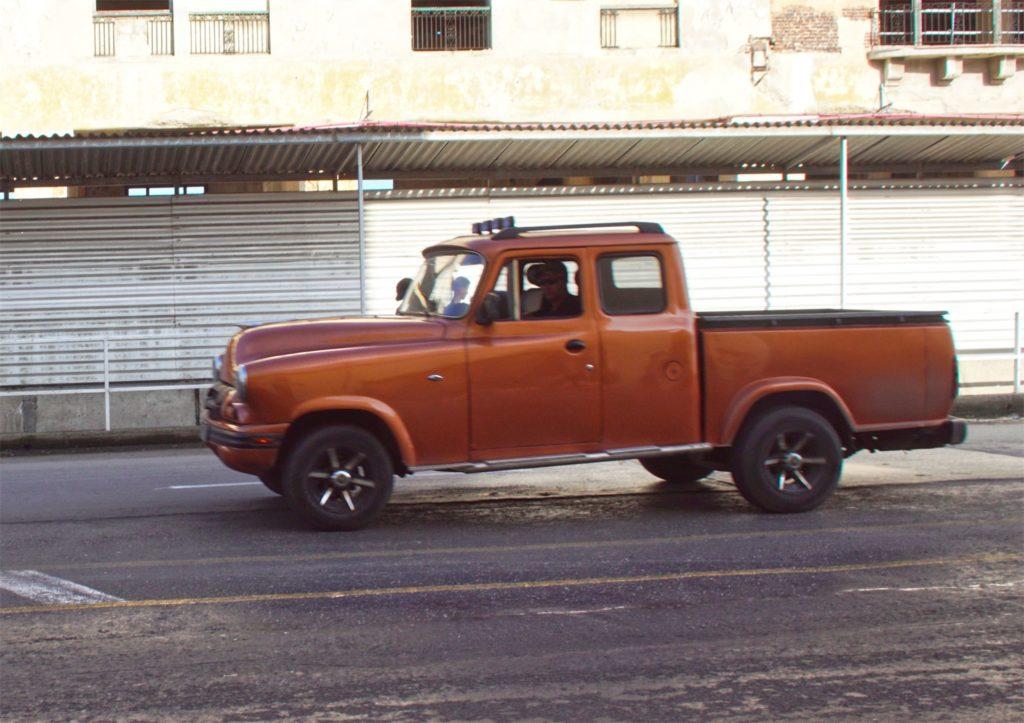 A very rare classic pickup truck.