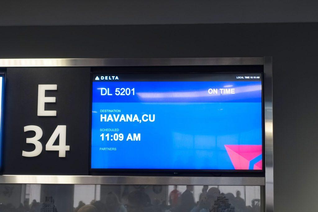 Next stop, Havana!