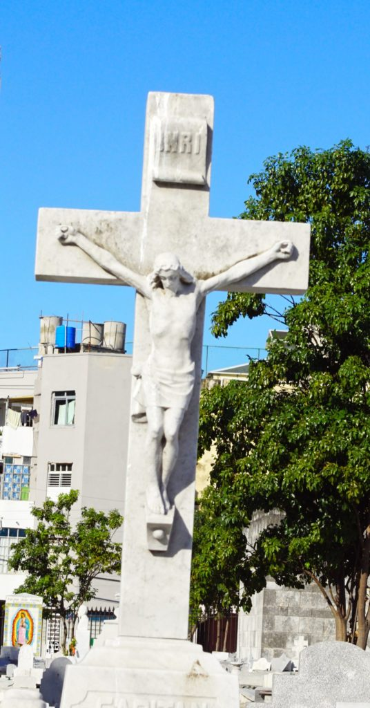 This Jesus is taller than most.