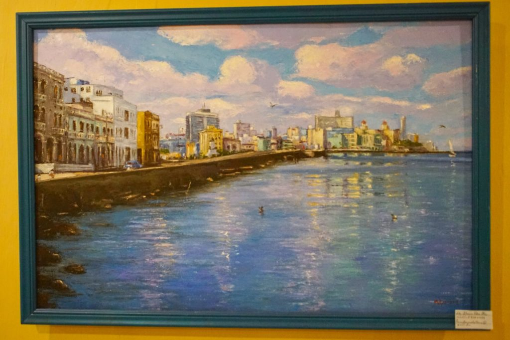 A fanciful view of Havana.