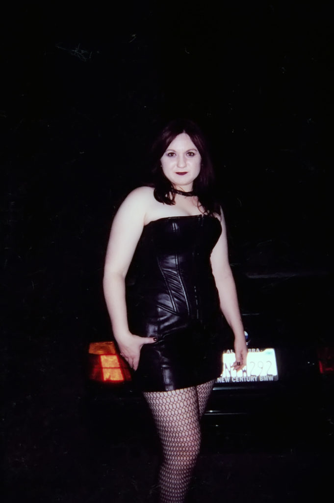 Leather and lace, that's me!