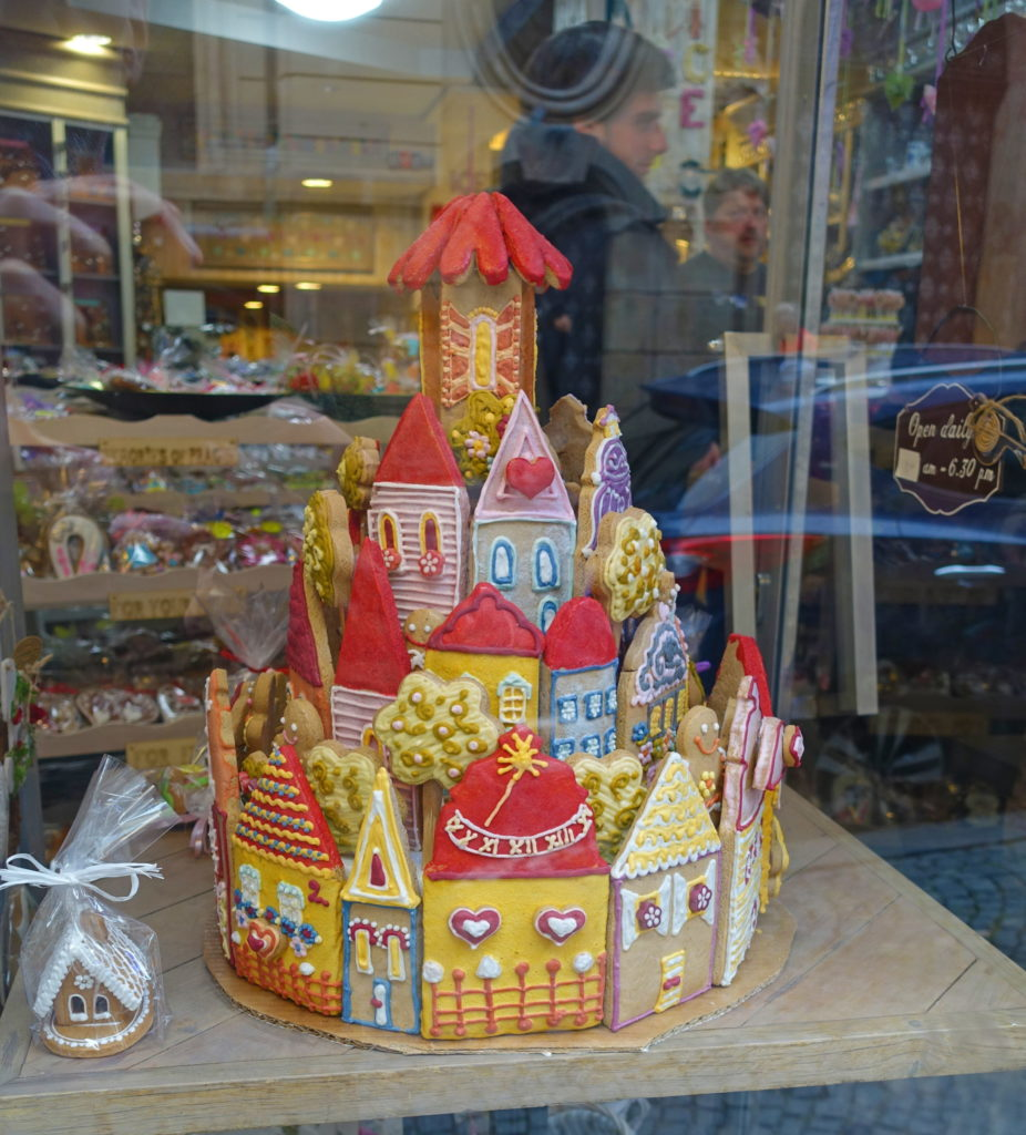 Just your typical gingerbread castle.