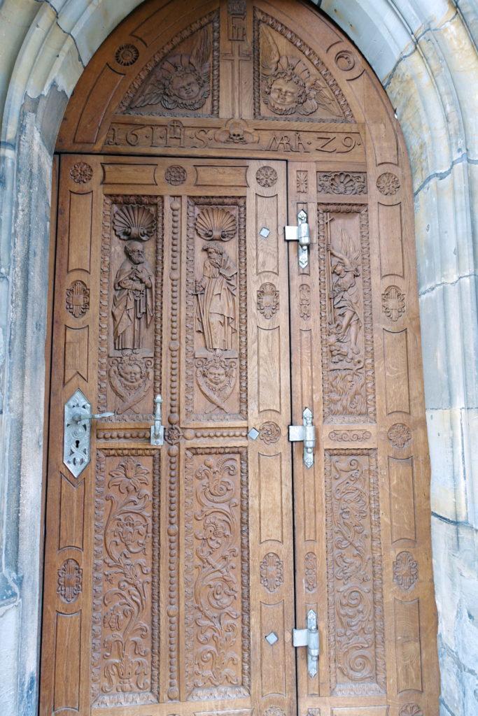 Built when doors were more than just practical.