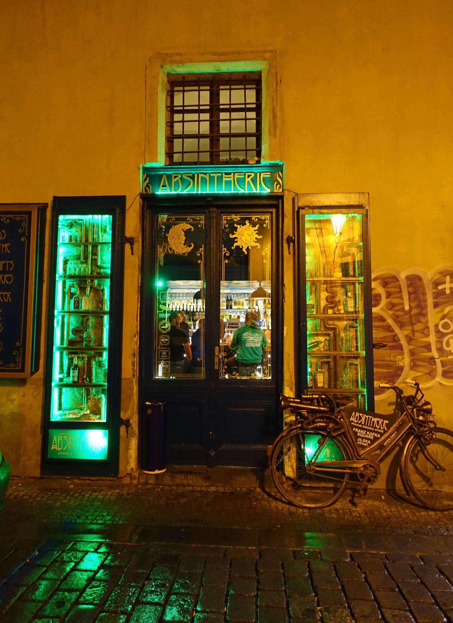 It looks like an Irish bar, but it's not.