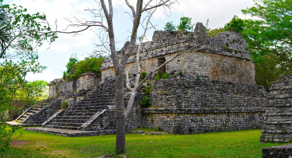 An Ek' Balam structure.